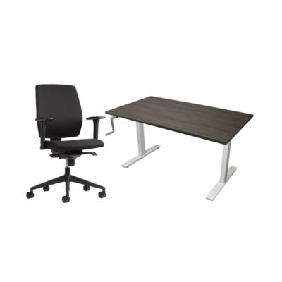 Thuiswerkplek 2 Slinger AciteLine + Basic bureaustoel